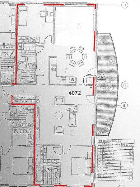 Izīrē dzīvokli, Daliņa iela 8 - Attēls 1