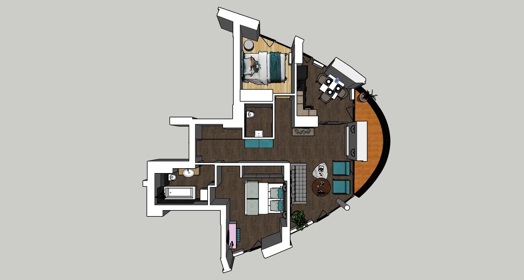 Pārdod dzīvokli, Klijānu iela 16 - Attēls 1