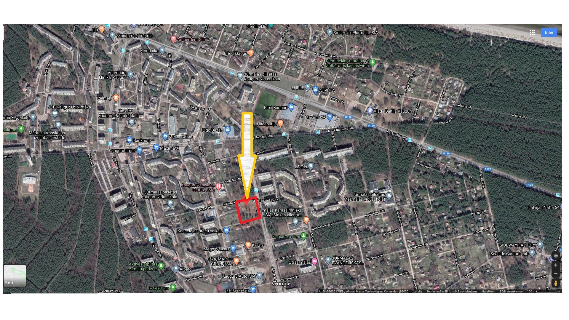 Pārdod zemi, Tallinas iela - Attēls 1