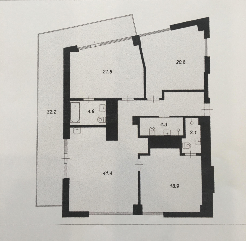 Pārdod dzīvokli, Mežaparka prospekts iela 1 - Attēls 1