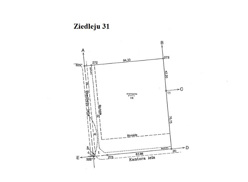 Pārdod zemi, Ziedleju iela - Attēls 1