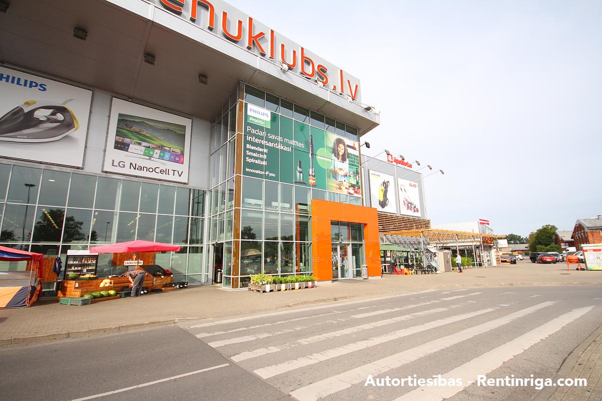 Iznomā tirdzniecības telpas, Rēzeknes iela - Attēls 1