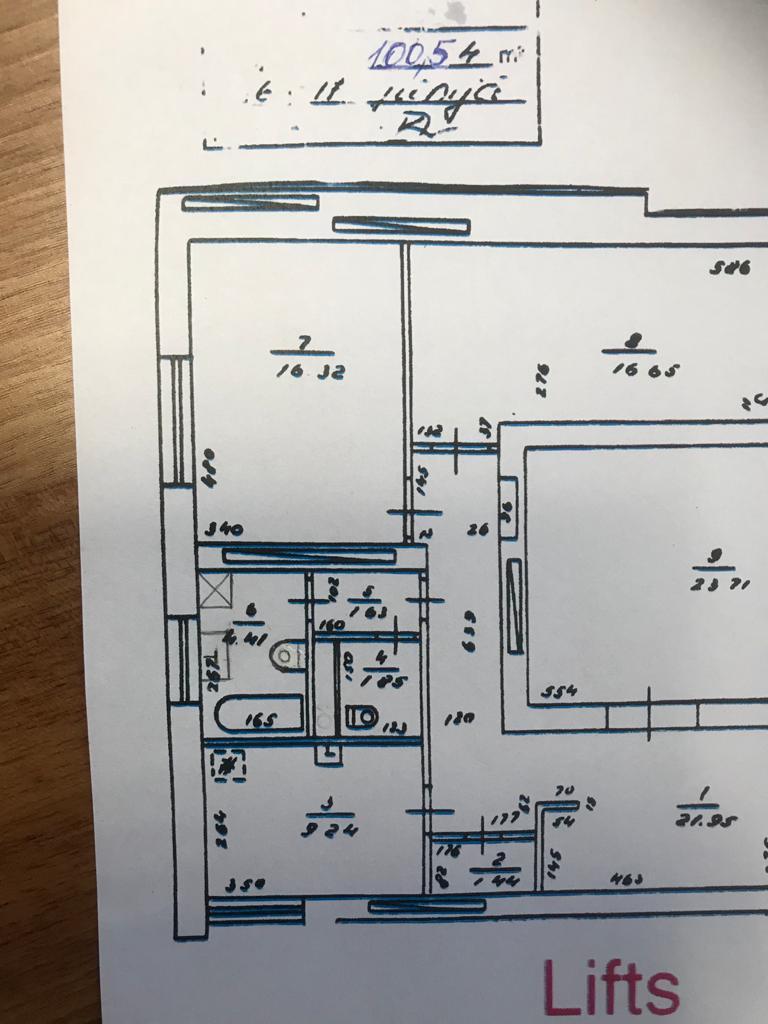 Pārdod dzīvokli, Rūpniecības iela 22 - Attēls 1