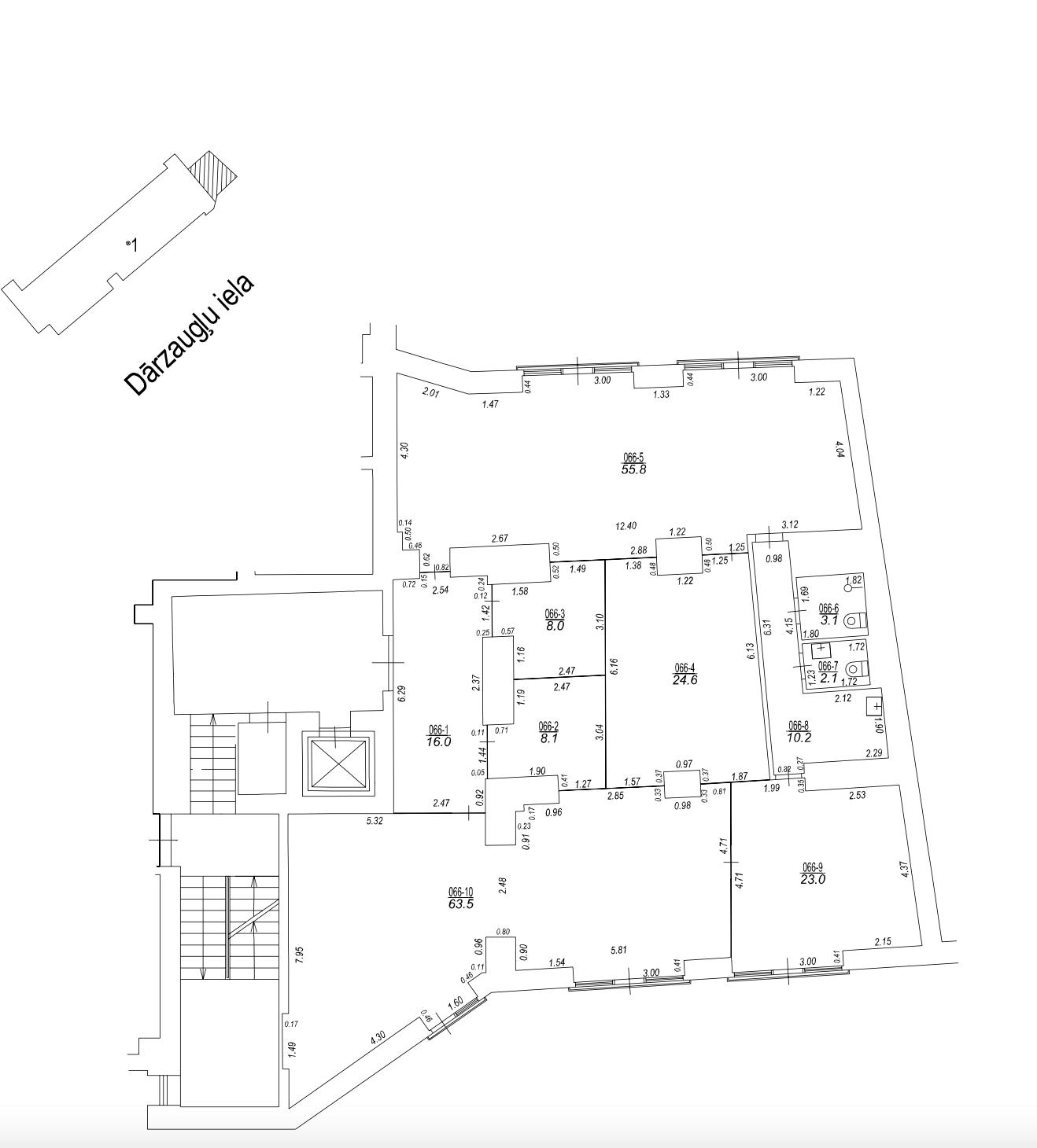 Pārdod biroju, Dārzaugļu iela - Attēls 1
