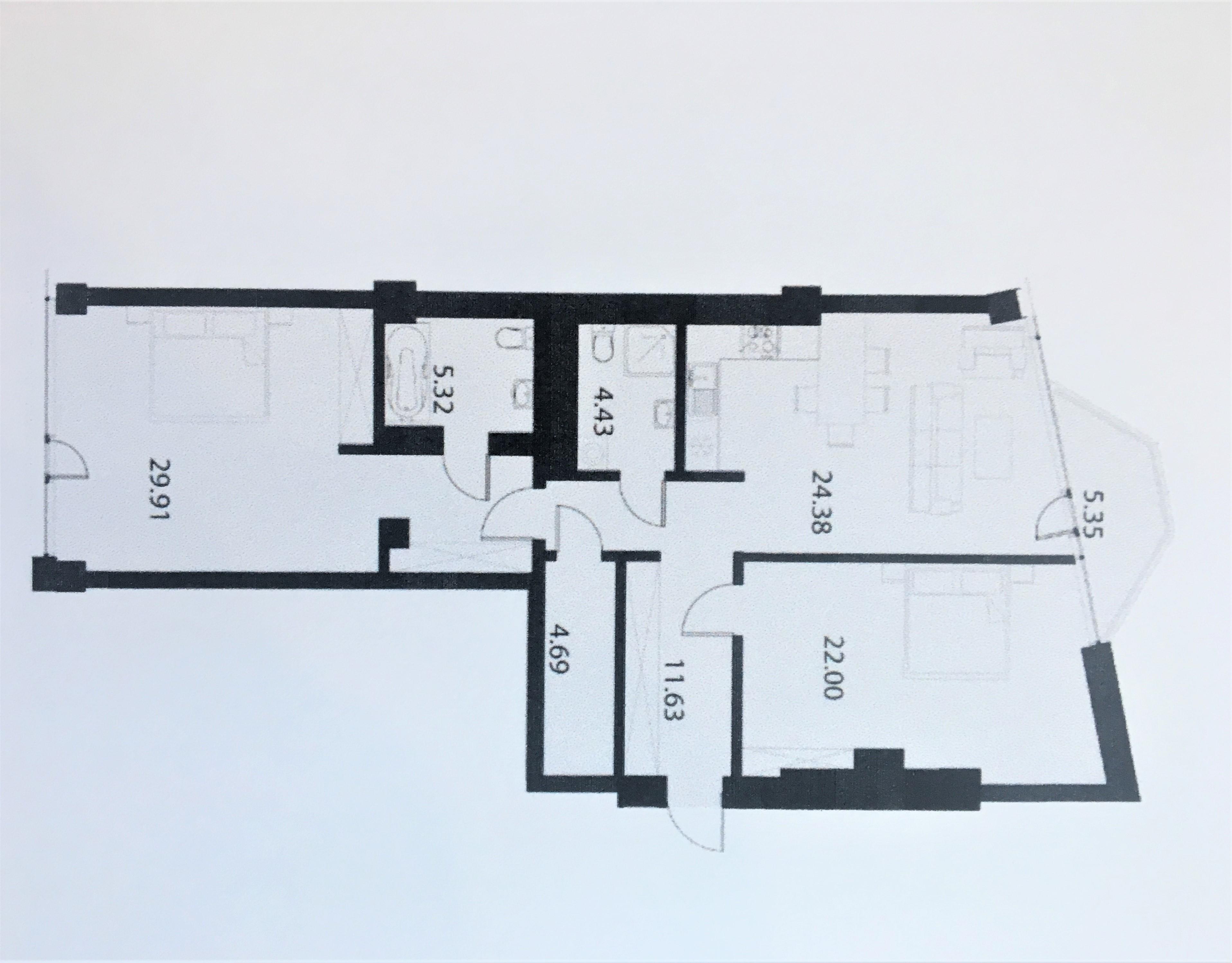 Izīrē dzīvokli, Rembates iela 4 - Attēls 1