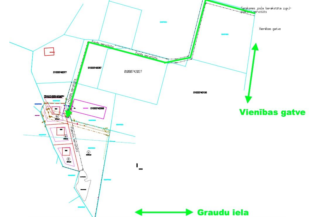 Land plot for sale, Vienības gatve street - Image 1