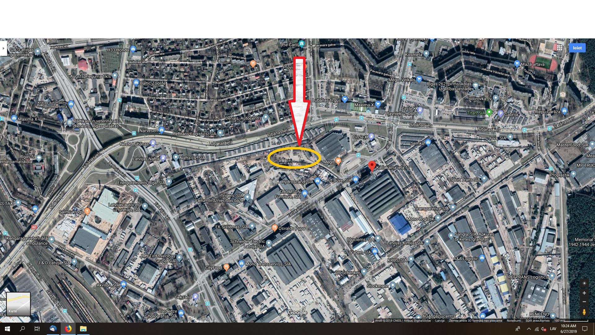 Investīciju objekts, Katlakalna iela - Attēls 1