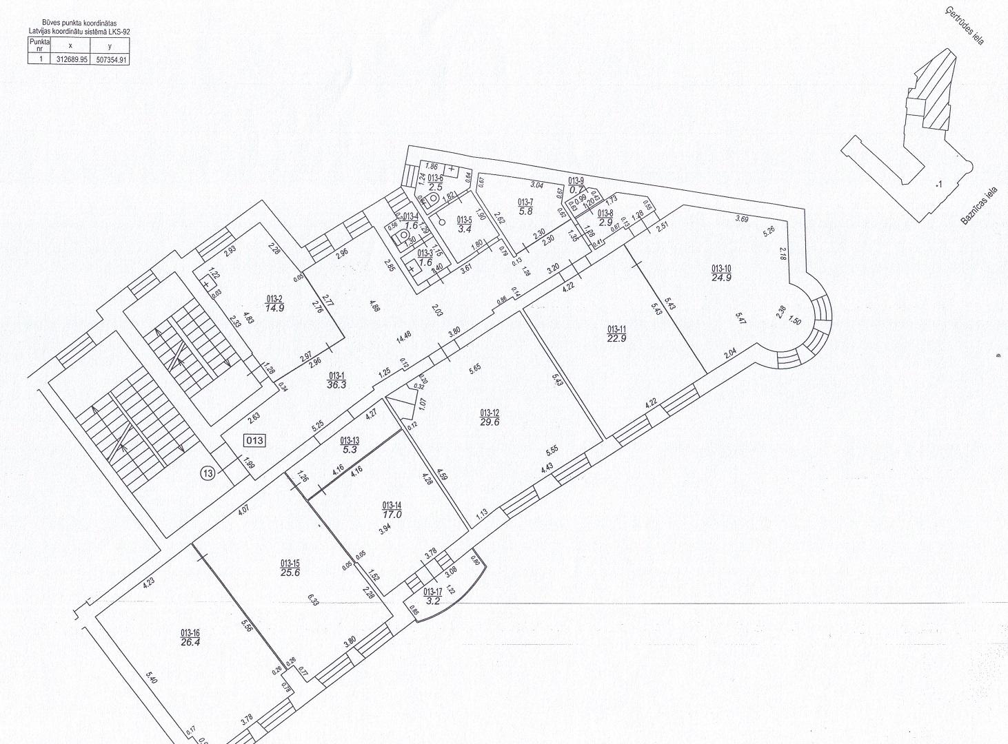 Iznomā biroju, Baznīcas iela - Attēls 1