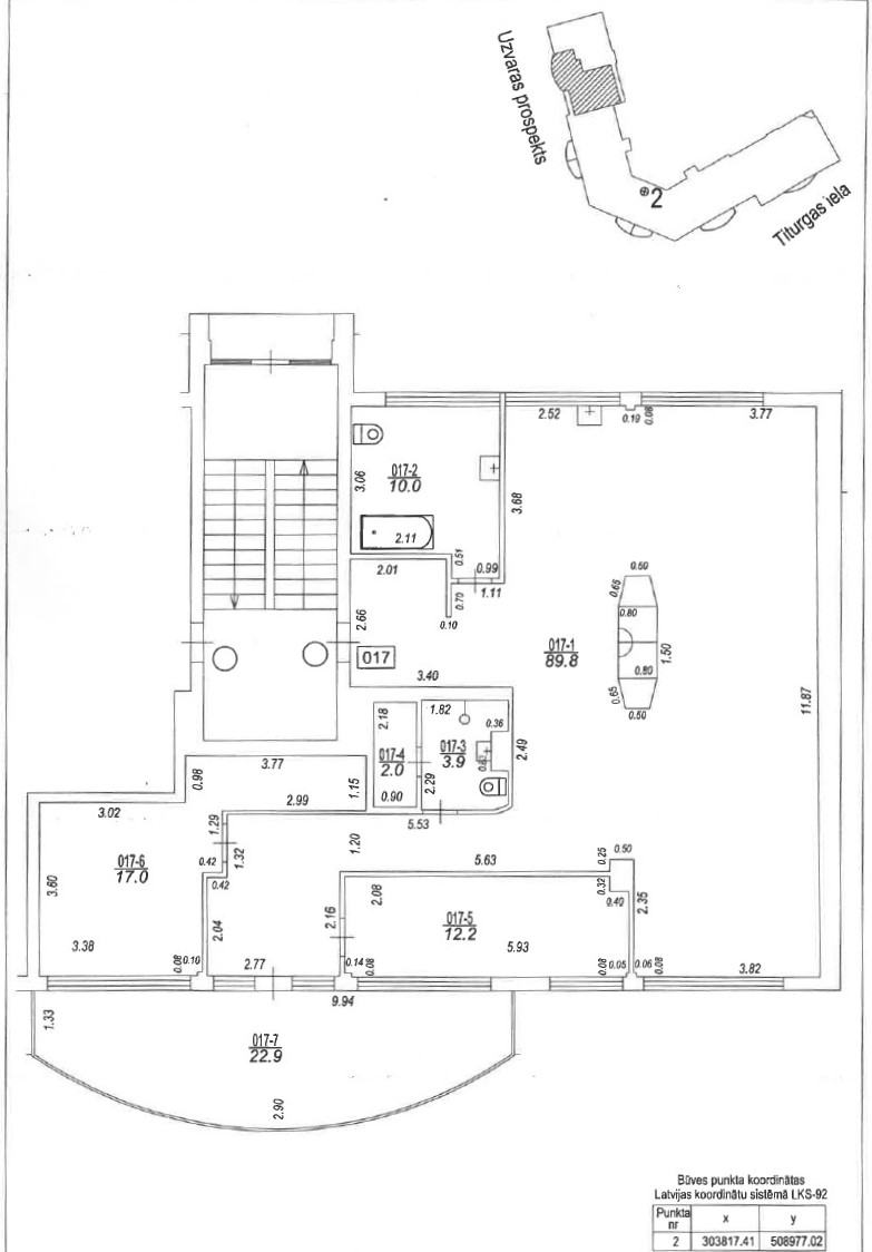 Pārdod dzīvokli, Uzvaras prospekts 17 - Attēls 1