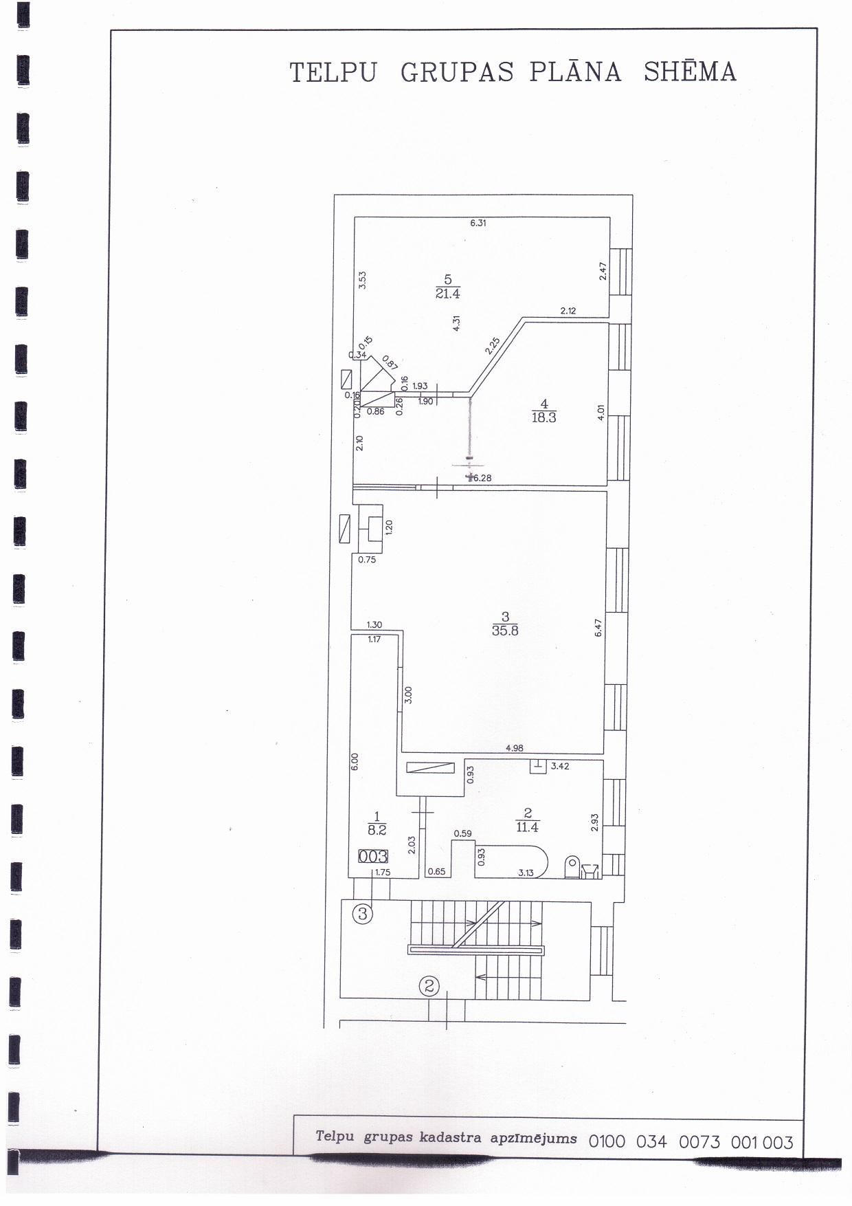 Pārdod dzīvokli, Artilērijas iela 44 - Attēls 1
