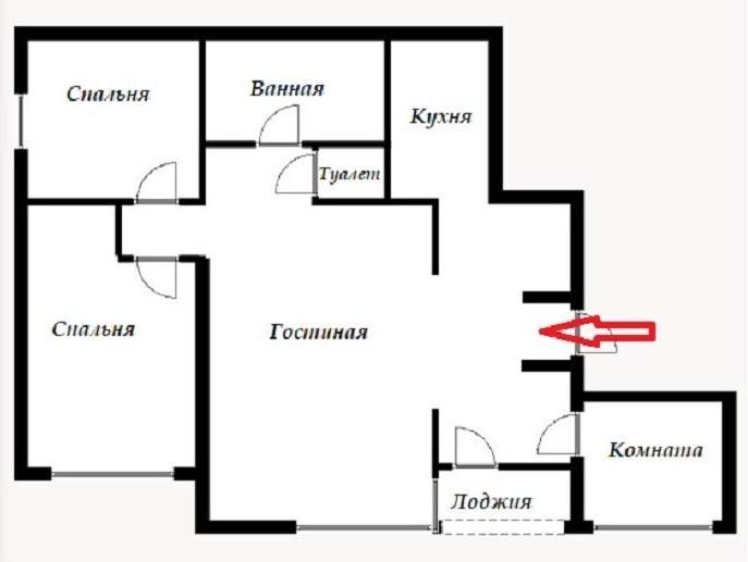 Pārdod dzīvokli, Zaļā iela 4 - Attēls 1
