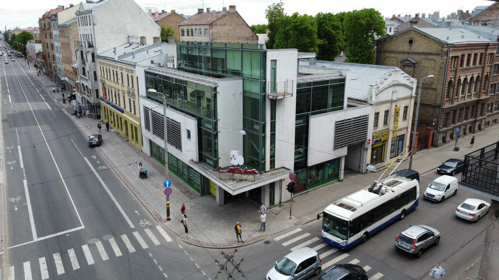 Investīciju objekts, Čaka iela - Attēls 1