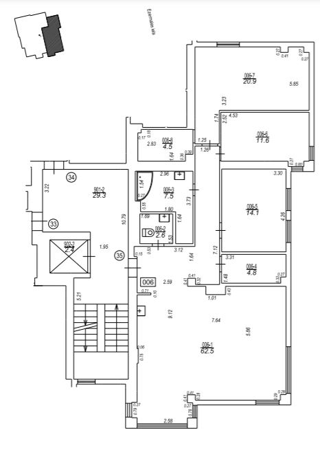 Izīrē dzīvokli, Ezermalas iela 13 - Attēls 1