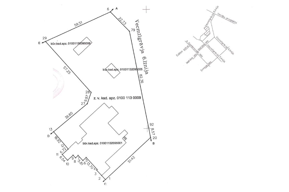 Pārdod namīpašumu, Vecmīlgrāvja 5. līnija iela - Attēls 1