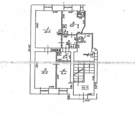 Pārdod dzīvokli, Pērnavas iela 37A - Attēls 1