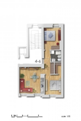 Продают квартиру, улица Dzirnavu 6 - Изображение 13