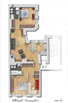 Pārdod dzīvokli, Dzirnavu iela 6 - Attēls 17