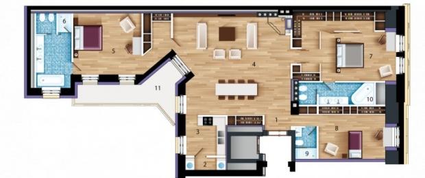 Pārdod dzīvokli, Elizabetes iela 4 - Attēls 1