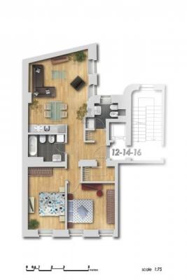 Pārdod dzīvokli, Dzirnavu iela 6 - Attēls 13
