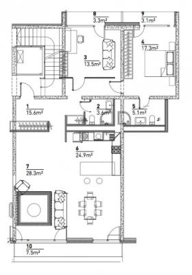 Pārdod dzīvokli, Zaubes iela 9A - Attēls 4