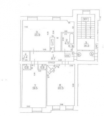 Apartment for rent, Stabu street 54 - Image 19