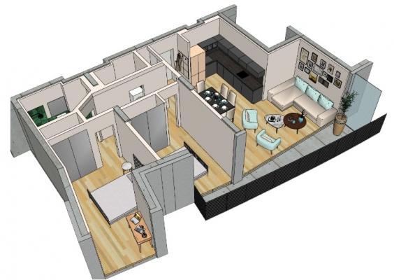 Apartment for sale, Klijānu street 16 - Image 11