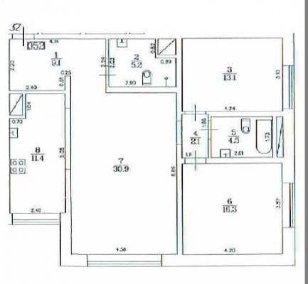 Izīrē dzīvokli, Lielirbes iela 13 - Attēls 17