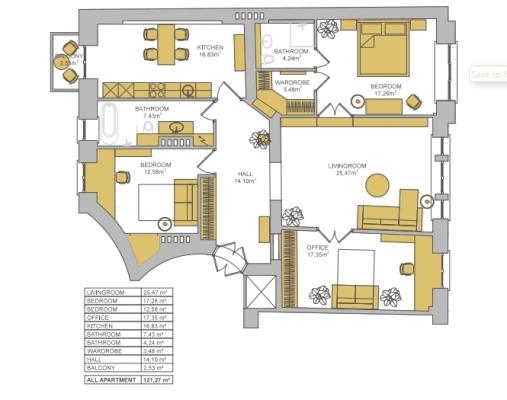 Pārdod dzīvokli, Barona iela 64 - Attēls 22