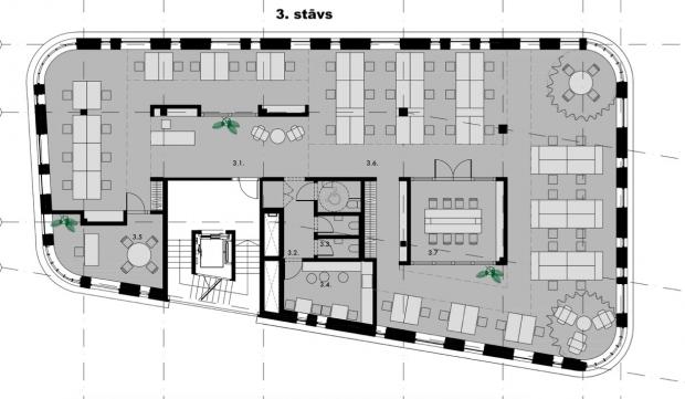 Iznomā biroju, Katrīnas dambis iela - Attēls 28