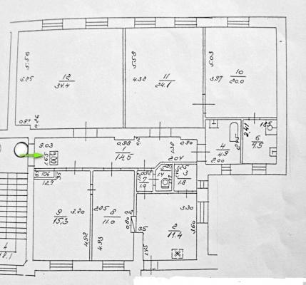 Pārdod dzīvokli, Blaumaņa iela 6 - Attēls 21