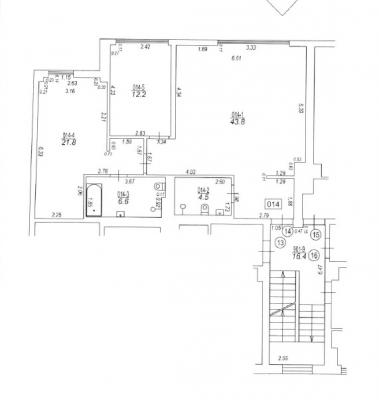 Pārdod dzīvokli, Baznīcas iela 18 - Attēls 18