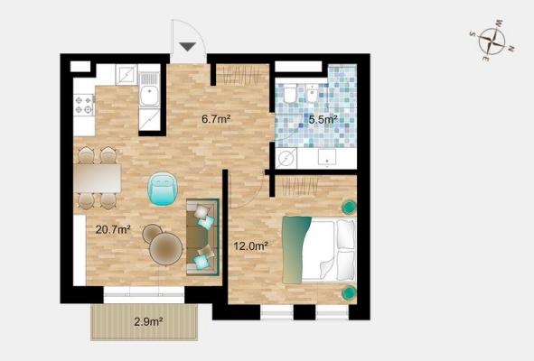 Apartment for sale, Jeruzalemes street 5 - Image 9