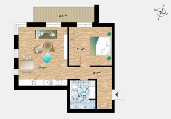 Izīrē dzīvokli, Jeruzalemes iela 5 - Attēls 10