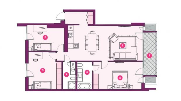 Izīrē dzīvokli, Dzirnavu iela 85 - Attēls 16