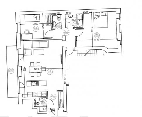 Izīrē dzīvokli, Rūpniecības iela 11 - Attēls 14