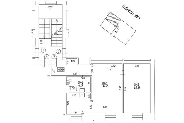 Pārdod dzīvokli, Indrānu iela 17 - Attēls 19