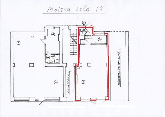 Iznomā tirdzniecības telpas, Matīsa iela - Attēls 3