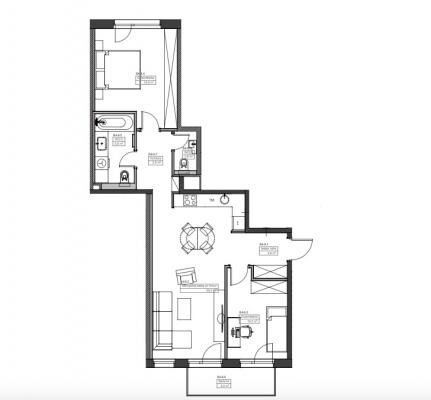 Izīrē dzīvokli, Cēsu iela 9 - Attēls 15