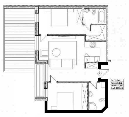 Pārdod dzīvokli, Valdemāra iela 41 - Attēls 14
