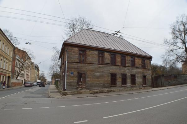 Investīciju objekts, Kalna iela - Attēls 1