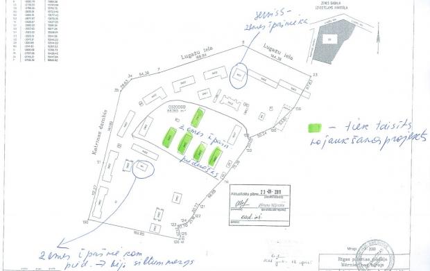Pārdod zemi, Katrīnas dambis iela - Attēls 3