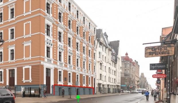 Pārdod tirdzniecības telpas, Lāčplēša iela - Attēls 1