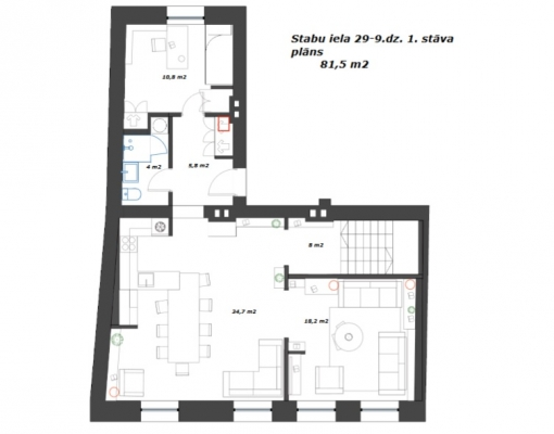 Apartment for rent, Stabu street 29 - Image 29