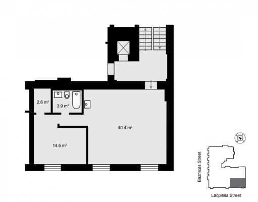 Pārdod dzīvokli, Lāčplēša iela iela 13 - Attēls 9