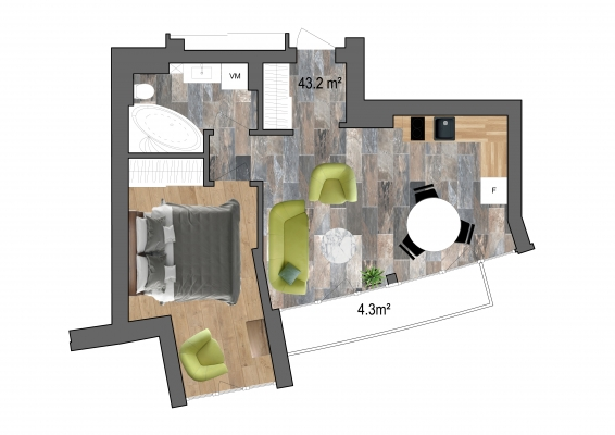 Продают квартиру, улица Klijānu 16 - Изображение 13