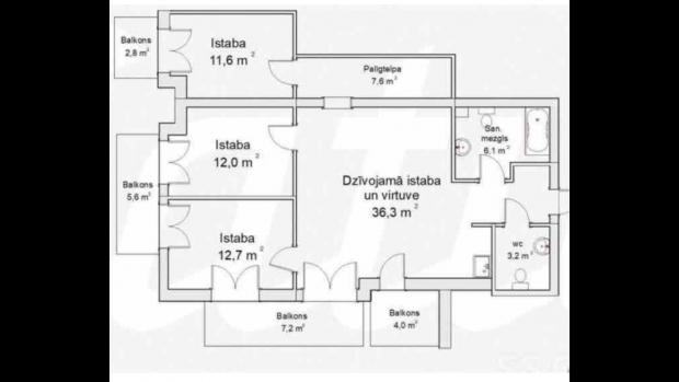 Pārdod dzīvokli, Vienības prospekts iela 34 - Attēls 15