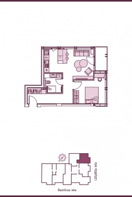 Apartment for sale, Lāčplēša iela street 11 - Image 8