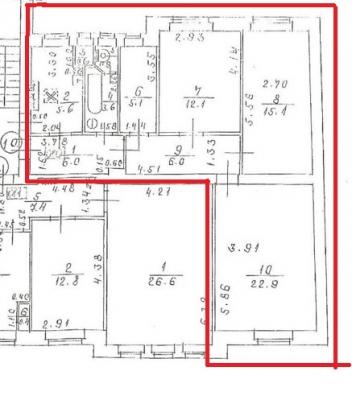 Pārdod dzīvokli, Blaumaņa iela 34 - Attēls 8