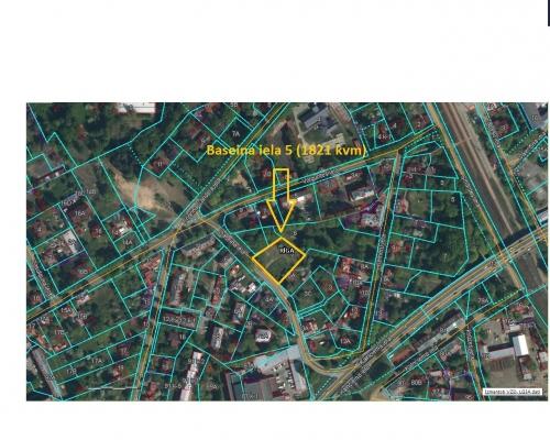 Pārdod zemi, Baseina iela - Attēls 3