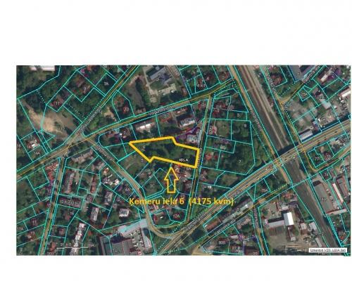 Pārdod zemi, Baseina iela - Attēls 2